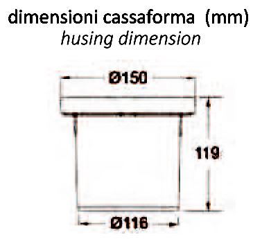 SEGNAPASSO 2-4 RAGGI CASSAFORMA DIMENSIO